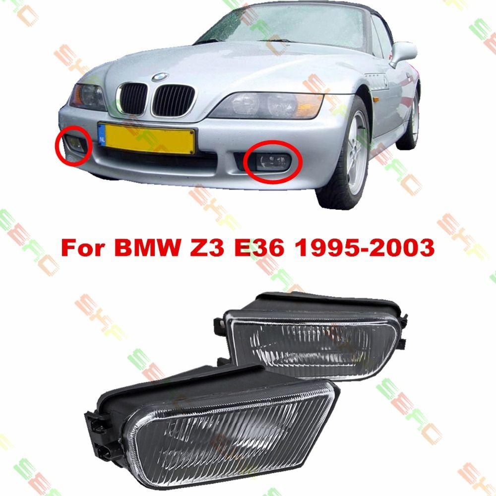 Für BMW Z3 E36 1995/96/97/98/99/2000/01/02/03 auto styling nebelscheinwerfer NEBELSCHEINWERFER 1 SATZ Muster glas