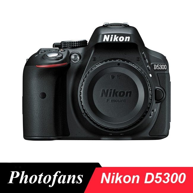 Nikon D5300 DSLR Kamera-24.2MP-Video-Vari-Winkel LCD-WiFi (Marke Neue)