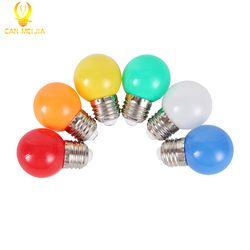 Bunte E27 Led-lampe 3 watt Energie Spar Lampe Licht Weiß Rot Blau Grün Gelb Orange Rosa Bombilla led Lampada für Home Beleuchtung