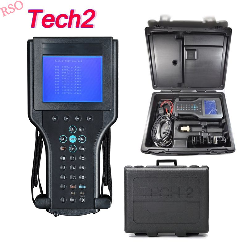 2018 Tech2 für GmM diagnose werkzeug für GmM/SAAB/OPEL/SUZUKI/ISUZU/Holden für g -m tech scanner ganze Auto system diagnose tech2