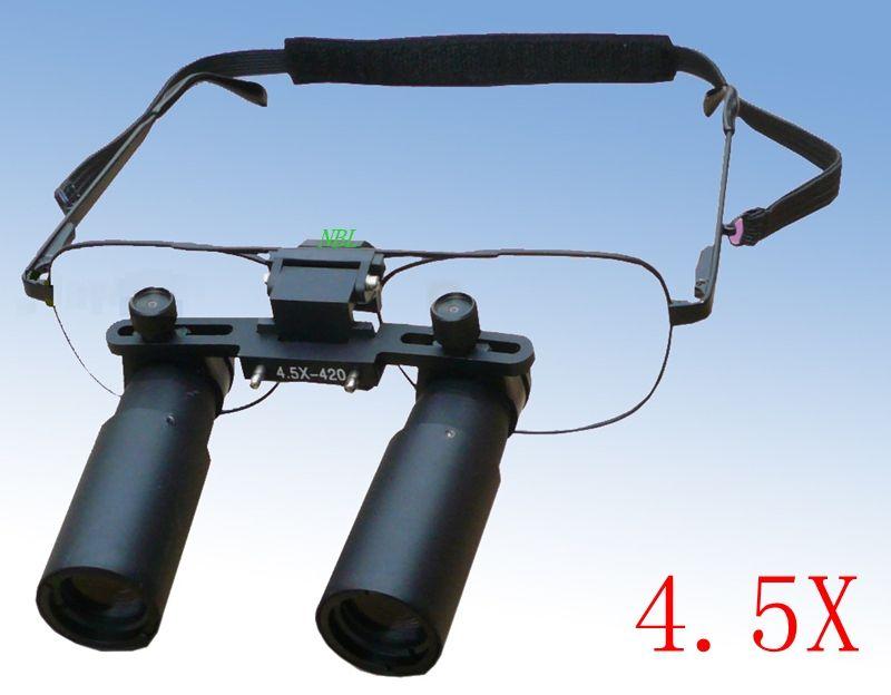 Professional 4.5X Surgical Medical Dental Loupes Magnifier Glasses Kepler Dental Loupe Optical Equipment Focused Customization