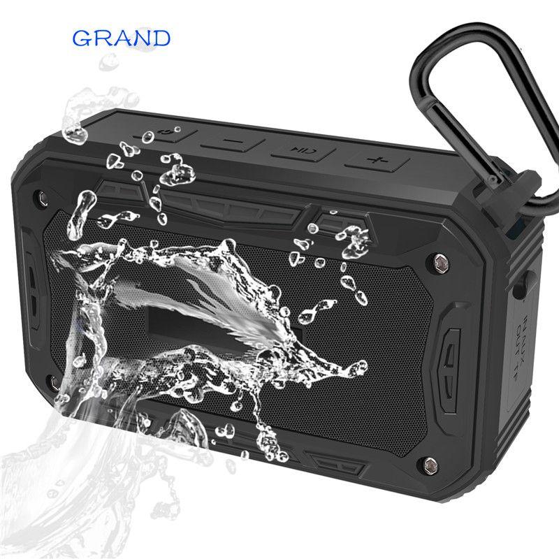 S618 Portable IP67 Waterproof Bluetooth Speaker Outdoor Sport Riding Climbing Bicycle Speakers <font><b>Handsfree</b></font> TF FM Radio GRAND