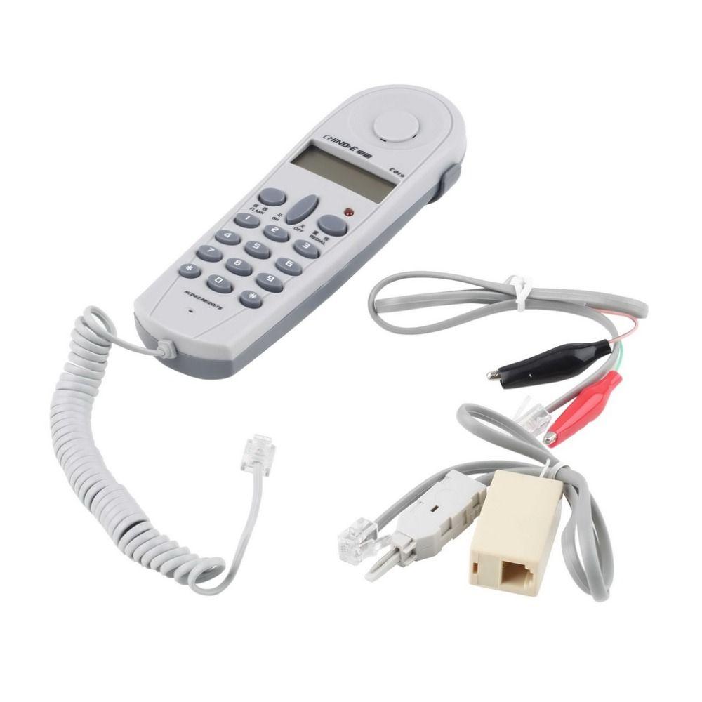 2017 neue Lager Angebot Telefon Telefon Stumpf Test Tester Lineman Werkzeugkabelsatz Anschlüsse Joiner