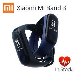 Быстрая доставка! Оригинальный Xiaomi Mi Band 3 умный Браслет 0,78 дюймов сенсорный экран OLED band 2 Обновление монитор сердечного ритма фитнес спорт