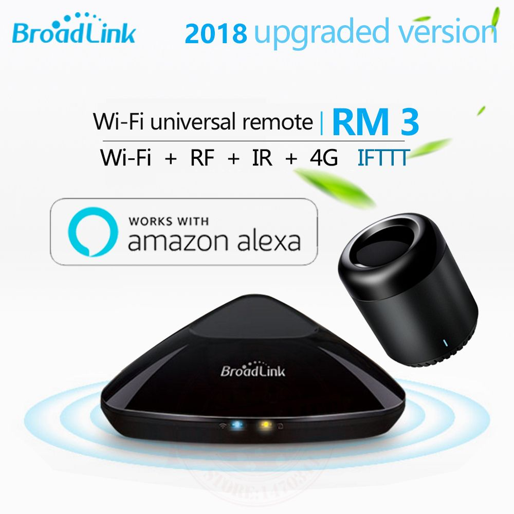 <font><b>Broadlink</b></font> RM3 RM Pro+/RM mini3 Smart Home Automation Remote Universal controller Intelligent WIFI+IR+RF Switch For iOS Android