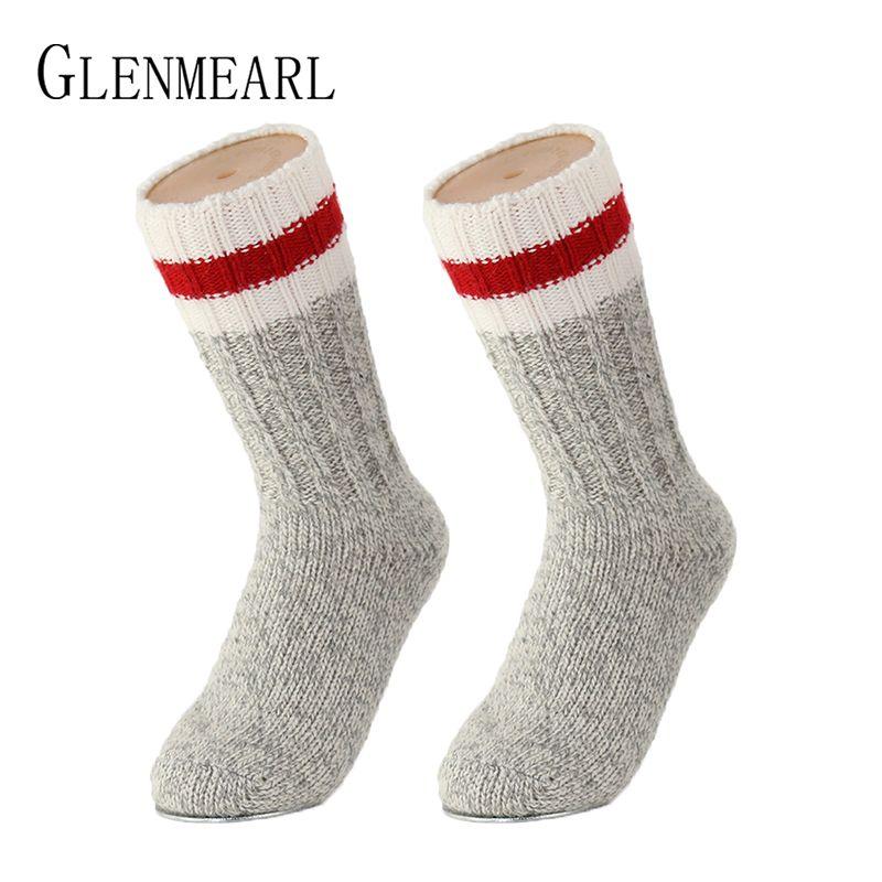 Laine mérinos femmes hommes enfants chaussettes marque supérieure Coolmax Compression hiver épais chaud bonneterie enfant femme mâle bottes de neige chaussettes 30