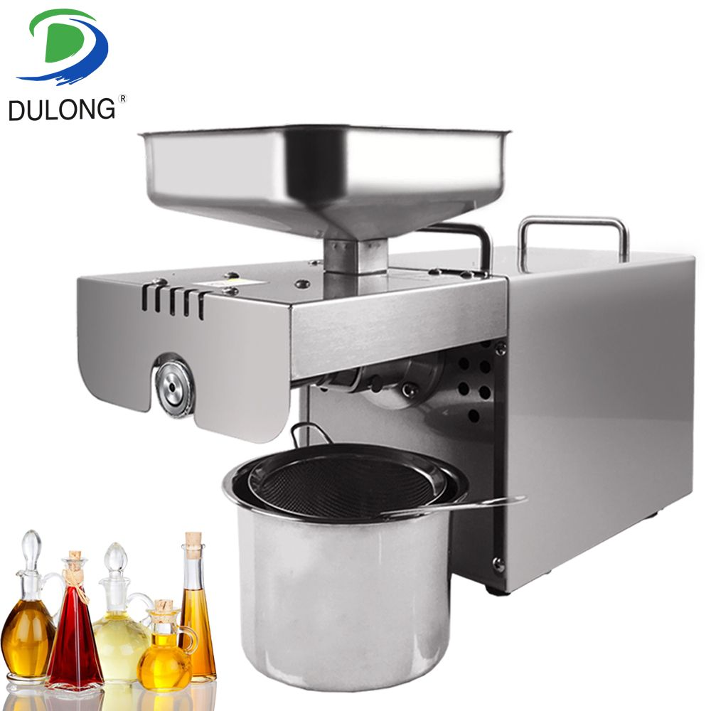 Brand Mini Oil pressing Machine Soybean Home Use Oil Pressers Cold Peanuts Electric Stainless Steel Oil Press Machine