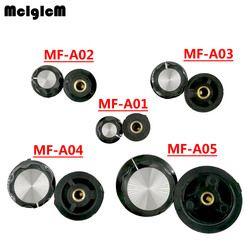 K324 10 pcs MF-A01 bakélite potentiomètre potentiomètre capuchon de bouton diamètre 19.5mm avec RV16 trou 3.2mm