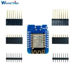 ESP8266 ESP-12 ESP12 ESP-12F Mini Module Wemos D1 Mini WiFi Development Board Micro USB 3.3V Based On ESP-8266EX 11 Digital Pin