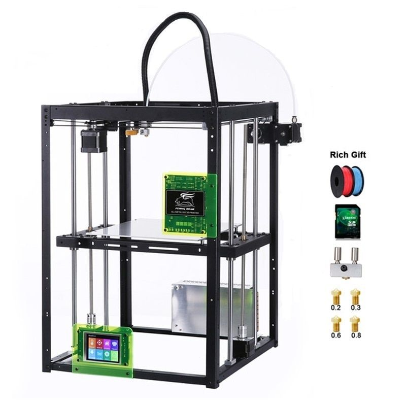 Activity Flyingbear P905X DIY 3d Printer kit Full metal Auto leveling Large building area High quality Makerbot Structure