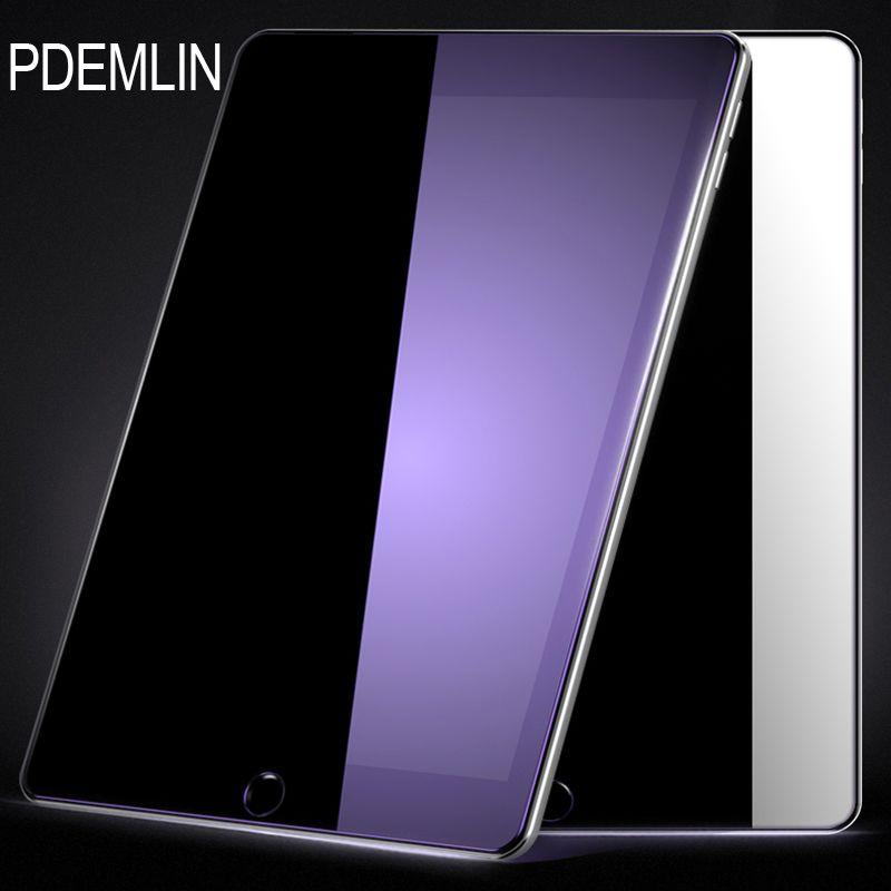 Displayschutzfolie für iPad Pro 10,5 PDEMLIN Anti-blue light 9 H Gehärtetem Glas Anti-Scratch-Screen Protector freies verschiffen