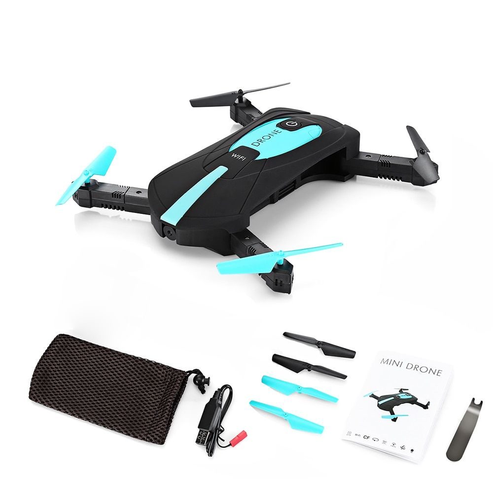 New JY018 ELFIE Drone WiFi FPV Quadcopter Mini Foldable Selfie RC Drones with HD Camera HD Professional VS JJRC H37 Helicopter