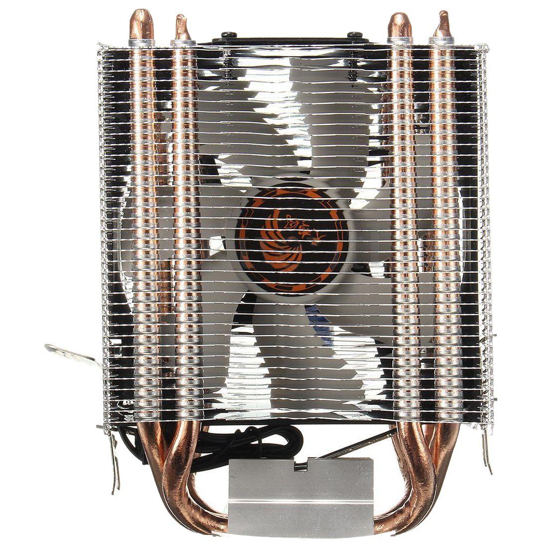 Neue 4 Heatpipe Cpu-kühler Kühlkörper für Intel LGA 1150 1151 1155 775 1156 (FÜR AMD)