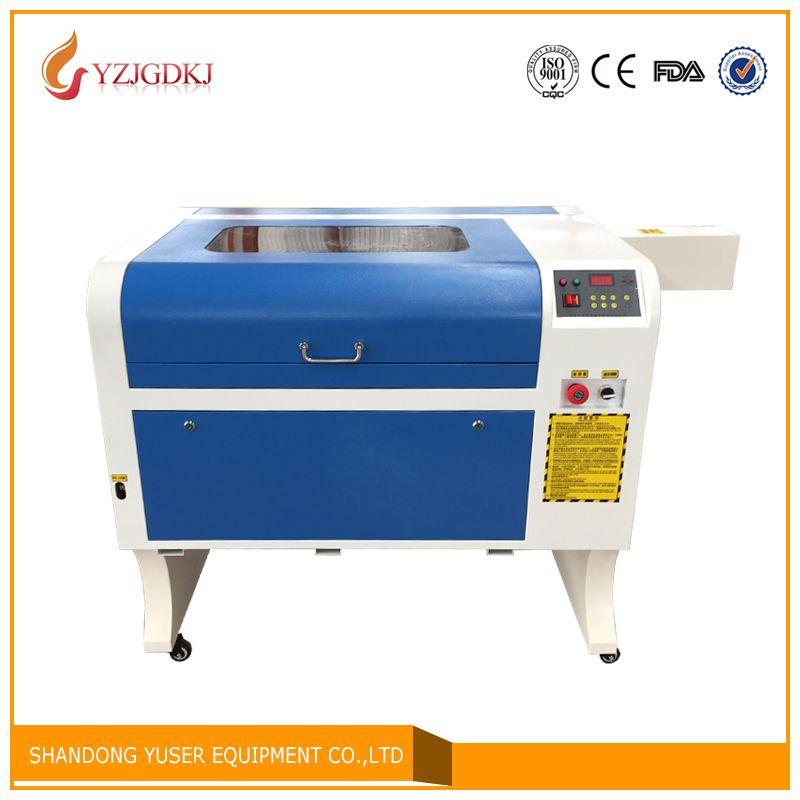 100 w laser Freies Verschiffen 4060 Laser Gravur 600*400mm Co2 Laser Schneiden Maschine Specifical für Sperrholz/ acryl/Holz/Leder