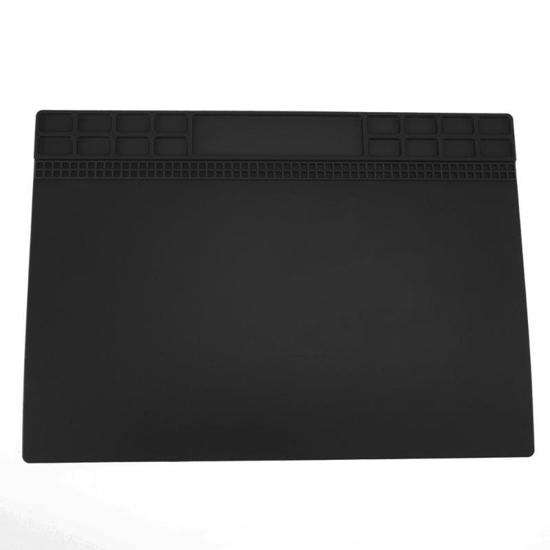 Heat-resistant Insulation Pad Soldering Mat Silicone Heat Gun BGA Soldering Station Repair Tools Maintenance Platform Desk Mat