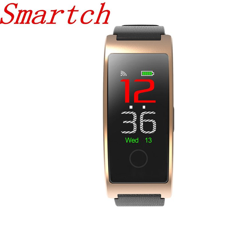 Smartch New CK11C Smart Band Colorful Screen Heart Rate Monitor Bracelet Blood Pressure Fitness Tracker Sport Watch