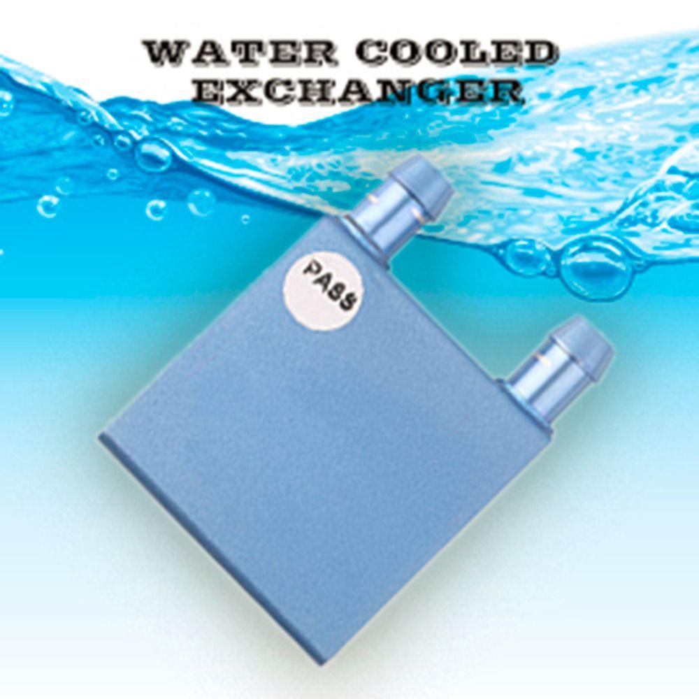 Aluminium Wasserkühlung Kühlkörper Block Kühler Flüssigkeitskühler Für CPU GPU Großhandel Drop Shipping
