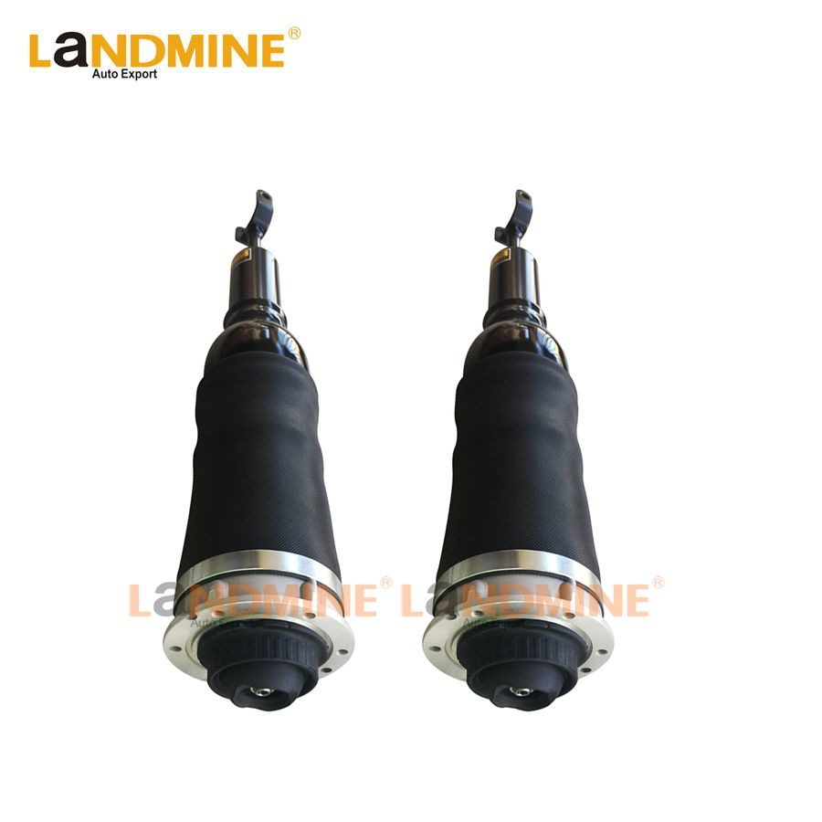 Free Shipping 2PCS New Front Air Spring Suspension Air Ride Shock Absorber Fit Audi A6 C5 4Z7616051D 4Z7698507 4Z7616051B