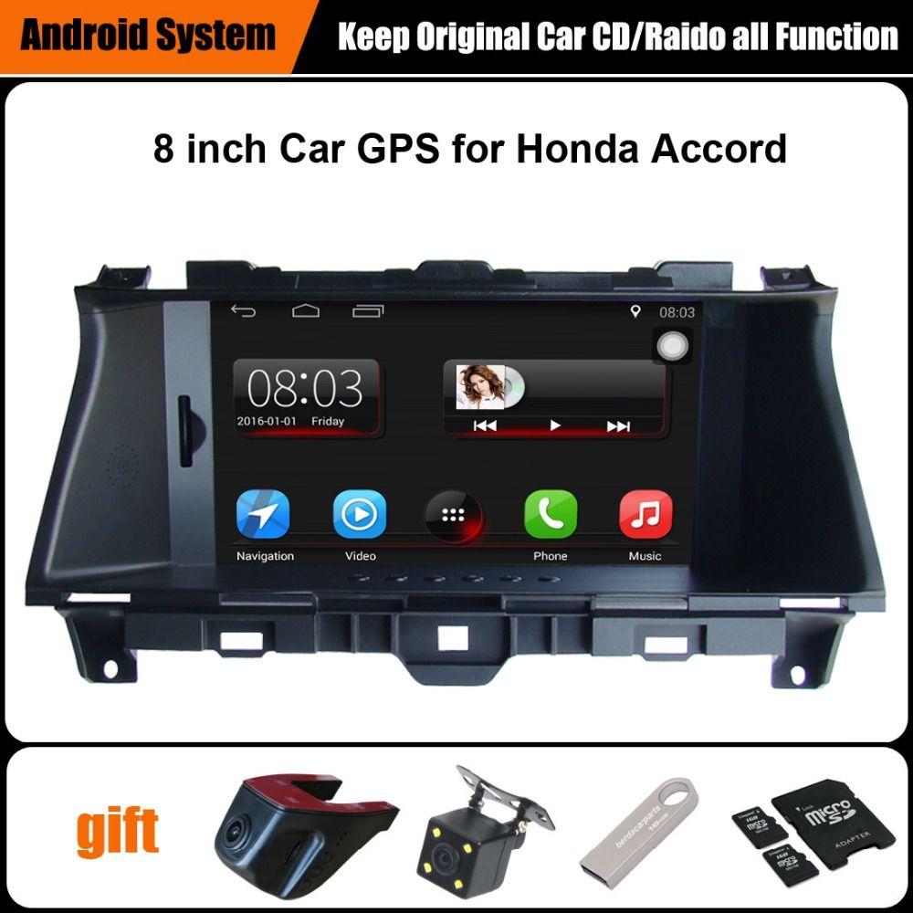 Verbesserte ursprüngliche auto multimedia player auto gps navigation anzug honda accord (2008-2012) unterstützung wifi bluetooth