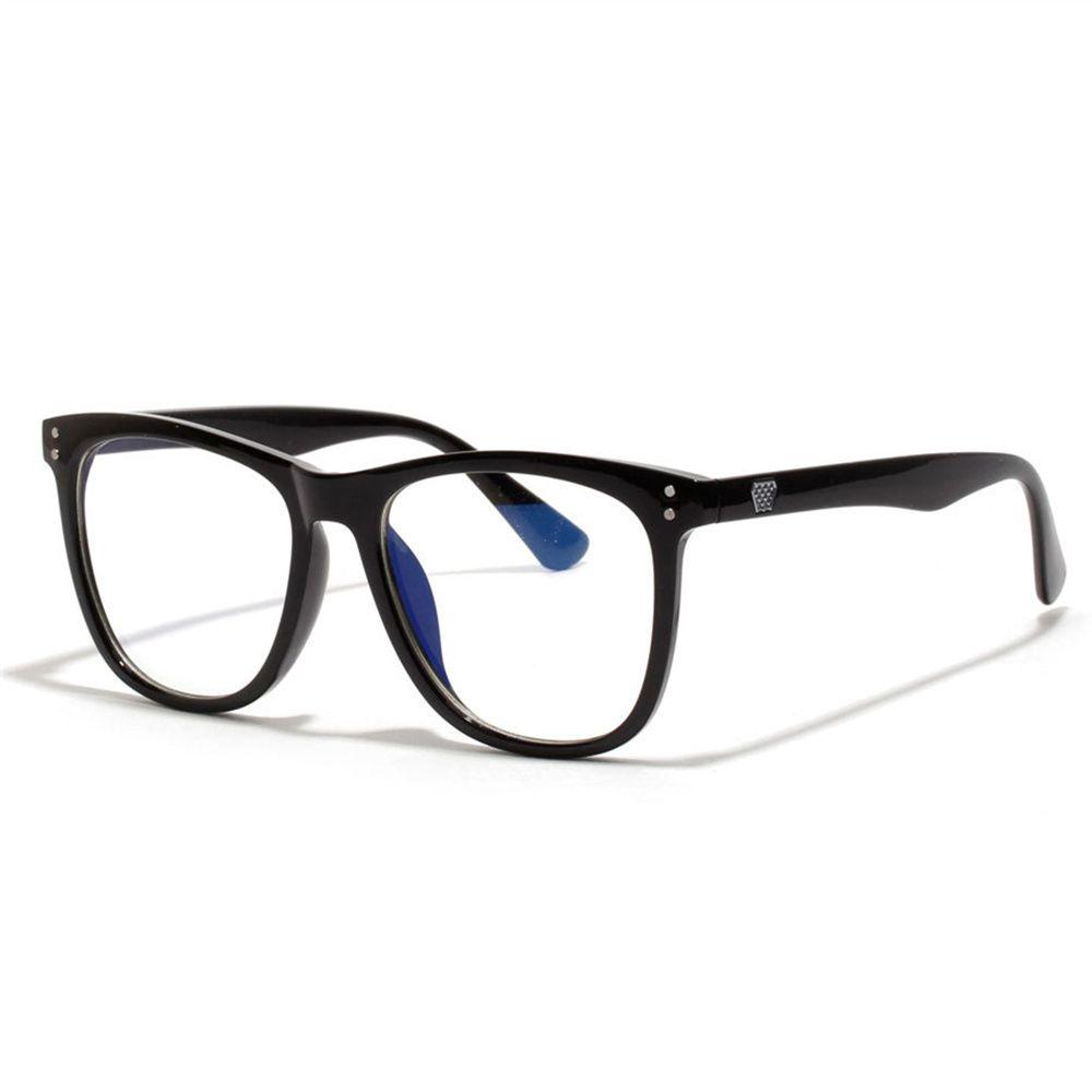 Vintage Anti Blue ray Glasses Frame Women Reading Goggle Blue Light Proof Glasses Computer Transparent Optical Eyewear