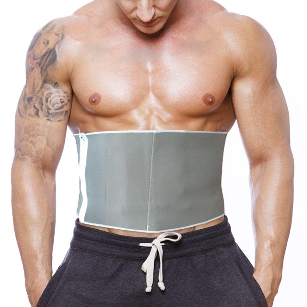 Nouveau Sauna réglable minceur taille ceinture brûler ventre Fitness corps graisse Cellulite brûleur Shaper pour femmes hommes 5 fermetures à glissière Wrap