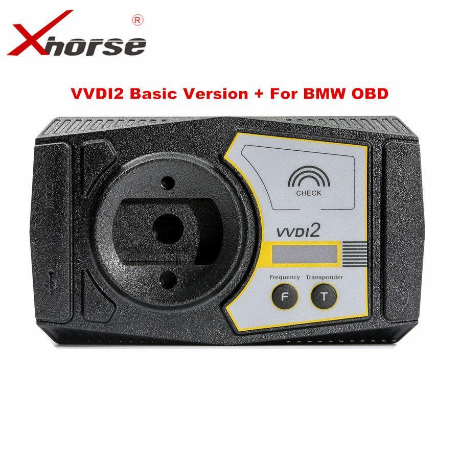 Original Xhorse VVDI2 Comandante Clave Programador Con Recién Agregar Básica Para BMW y Las Funciones DEL OBD Para BMW FEM/BDC función