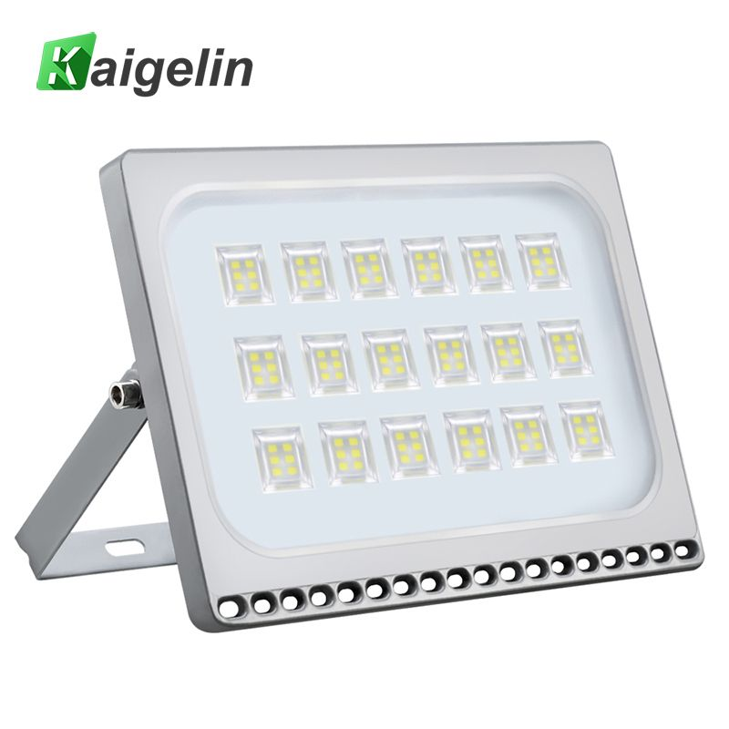 Kaigelin 100W LED Flood Light 7000LM Waterproof LED Projector Spotlight Garden Security Wall Lamp Floodlight Outdoor Lighting