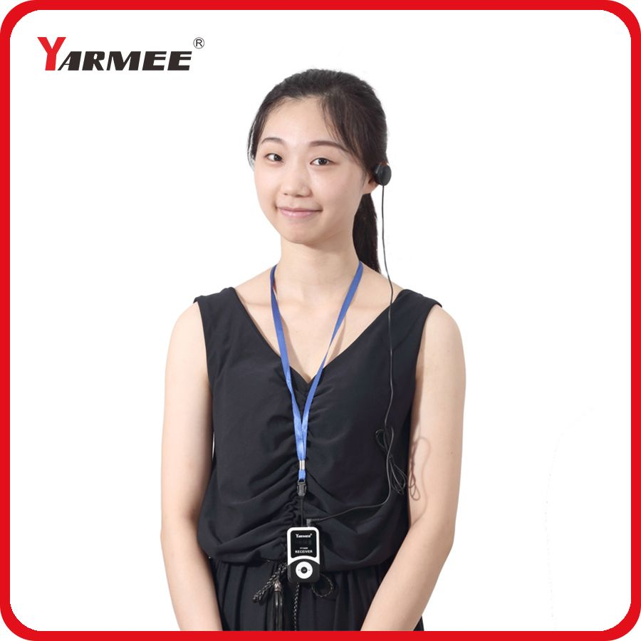 195MH~ 230MHz VHF Portable Wireless Tour Guide System Equipment for 30 pcs Receivers With 1PC Charger Case YT100