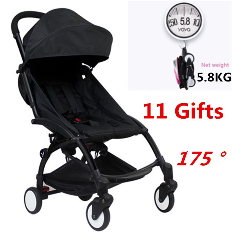 Original Yoya Baby Stroller 175 Degree Trolley Car trolley Folding Baby Carriage Bebek Arabasi Buggy Pram Babyzen Yoyo Stroller