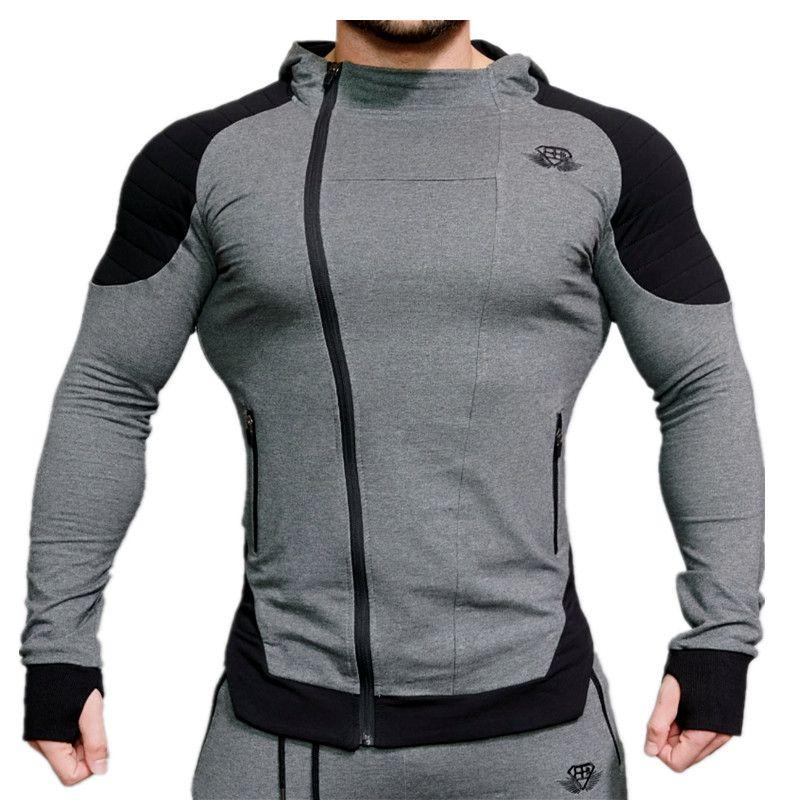 2017 neueste Baumwolle Hoodie WERDEN Sweatshirts fitness weste Tees bodybuilding tank top männer marke kleidung übung weste