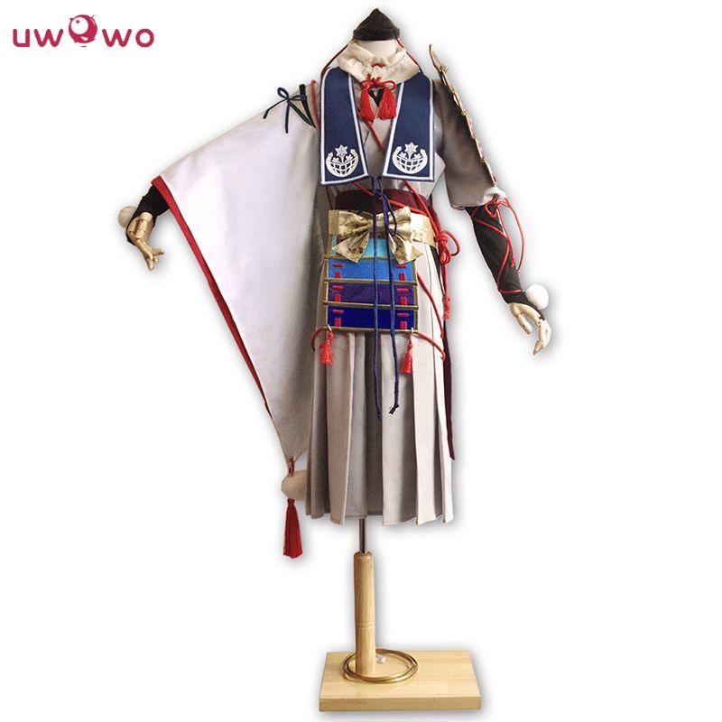 UWOWO Imanotsurugi Cosplay Touken Ranbu Online Men Polyester Costume Women Samurai Suit Touken Ranbu Online Cosplay Samurai