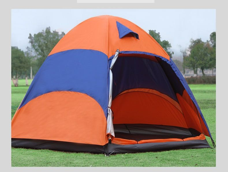 double layer 5-8 Person Big Camping Tents,Queen Size Outdoor Camping Tents ,5-8 person suitable ,240*240*145cm
