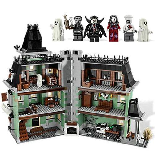Lepin 16007 2141pcs Monster Fighter The Haunted Soul House Model Building Block Kits Brick Toy Children Gifts 10228