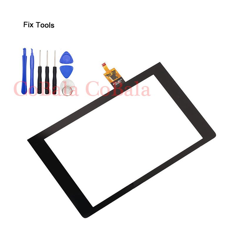LOVAIN 1Pcs Original For Lenovo Yoga Tab 3 8 YT3-850 850F Tablet 8.0 Touch Screen Digitizer LCD Outer Front Glass Sensor+Tools
