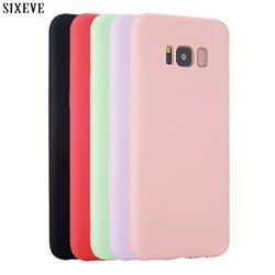SIXEVE Étui En Silicone pour Samsung galaxy S8 Plus S6 S7 bord S4 S5 neo Note 8 3 4 5 A3 A5 A7 2015 2016 360 De Téléphone portable de Luxe couverture
