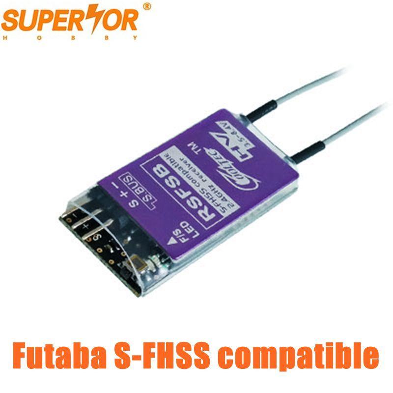 Récepteur de drone Cooltech RSFSB 8ch compatible s-fhss S. BUS pour drone 10J, 8J, 6 K, 6J, 10J, 18 MZWC, 18SZ, Tarrot