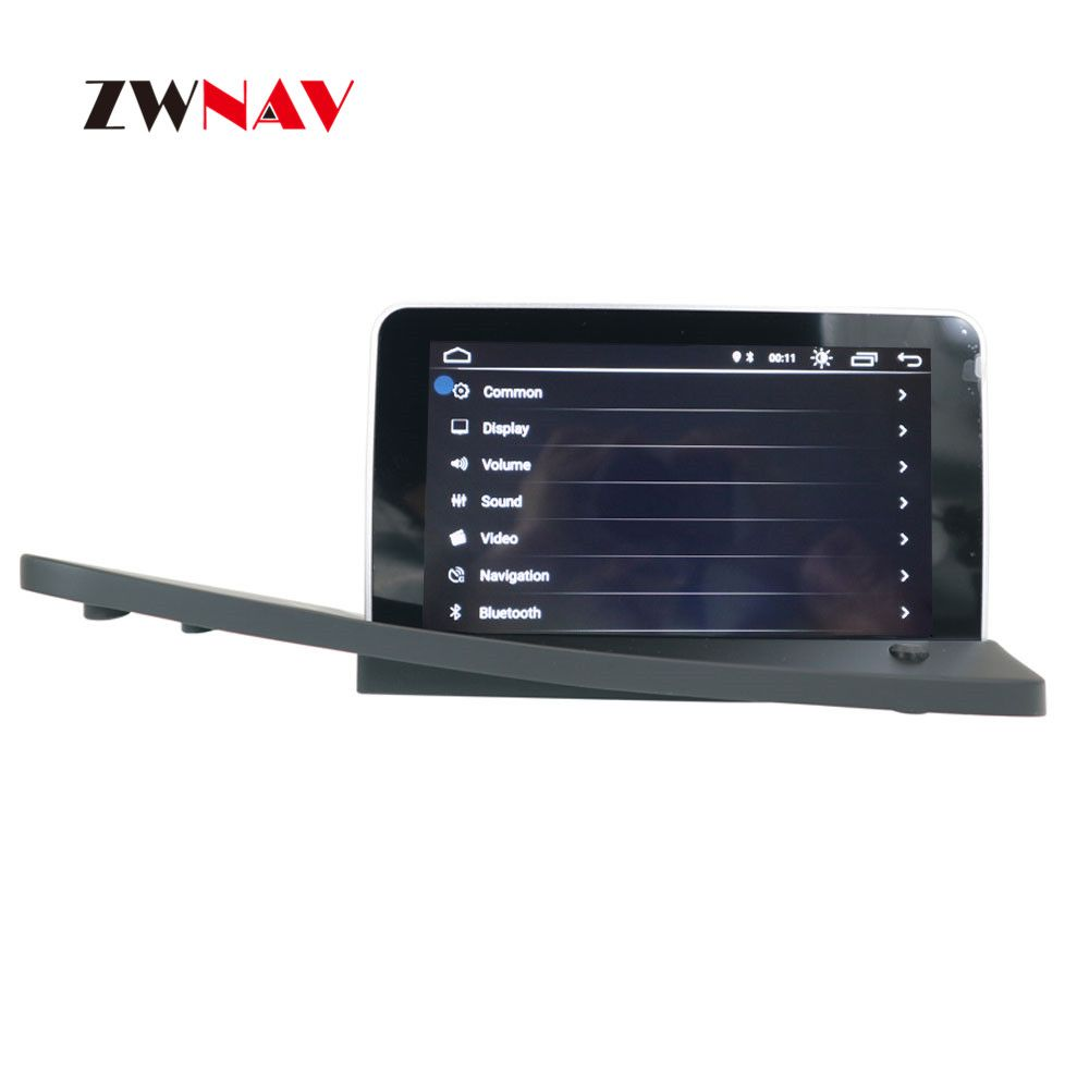 ZWNAV Android System Car DVD Player GPS Navigation For VOLVO S80 S80L 2006-2012 Left Auto Head Unit Radio Screen