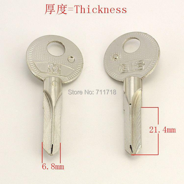 A093 Wholesale Locksmith Keymaster Brass House Home Door Blank Empty Key Blanks Keys