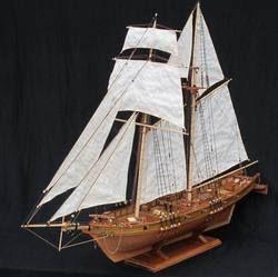 Nidale Model Gratis Pengiriman Skala 1/96 Klasik Antik Kapal Perang Kayu Model Kit Harvey 1847 Kayu Perahu Layar Model