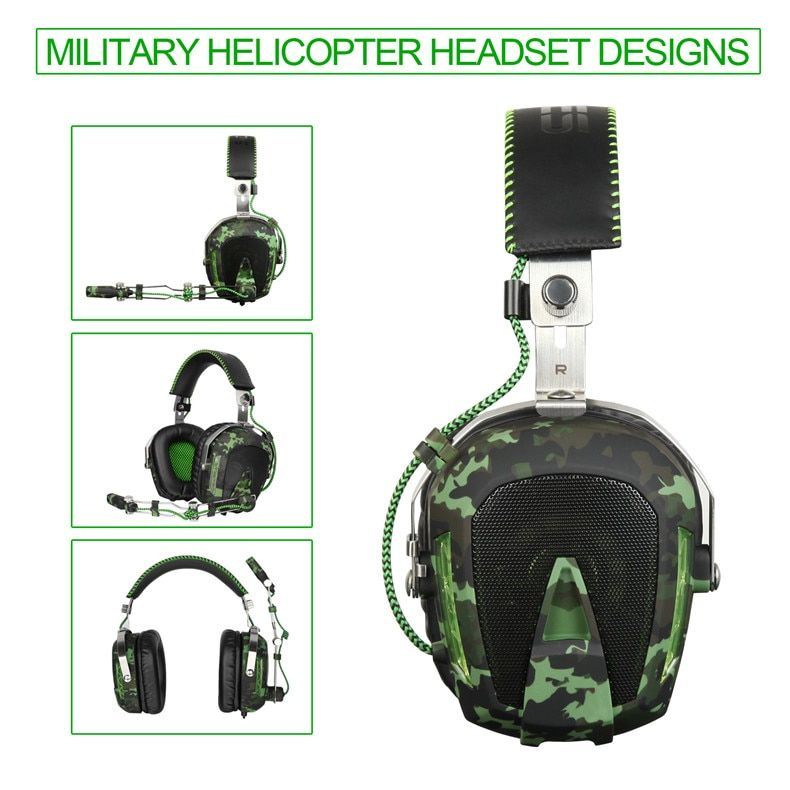 SADES SA926T 3.5mm Gaming Headset Headphones For Xbox One Mobile Phone Mac Laptop PC Camouflage