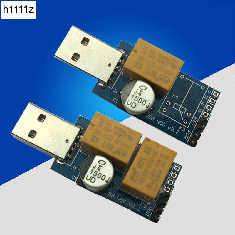 USB Chien De Garde Carte Ordinateur Sans Surveillance Redémarrage Automatique Bleu Écran Jeu de L'exploitation Minière Serveur BTC Mineur