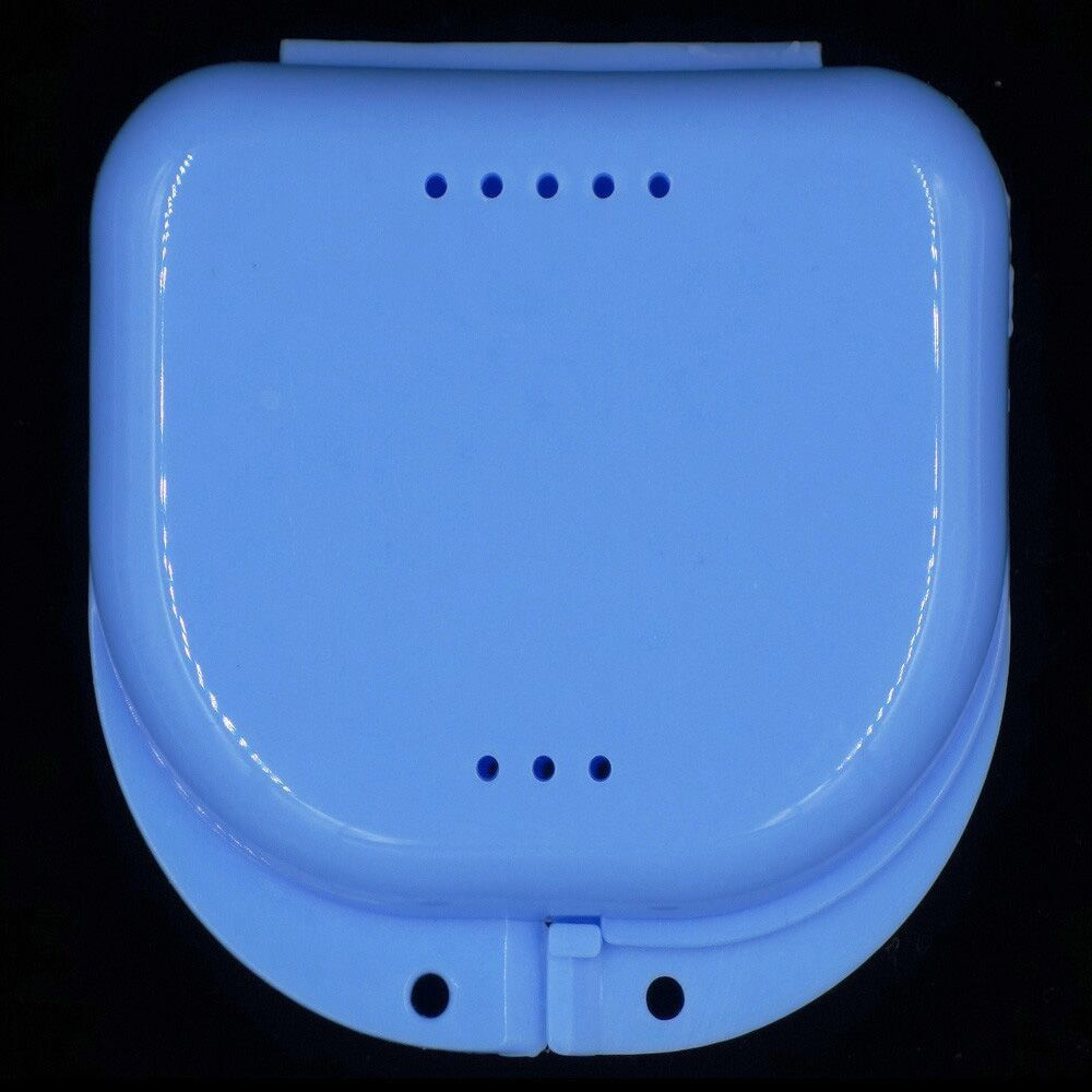 10 Pièces/ensemble Bouche Garde Cas Dentaire Orthodontie Retenue Box Cas En Plastique Prothèse Plateau Boîte Dents Récipient Boîte De Prothèse