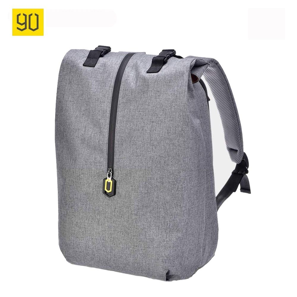 Original Xiaomi 90 Fun Leisure Mi Backpack 14 Inches Casual Travel Laptop Rucksack College Student School Bag Gray Blue