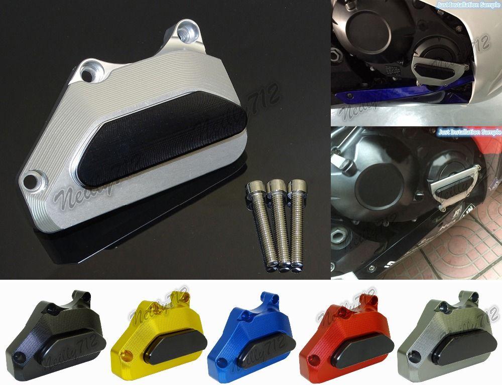 Waase droite moteur Crash plaquettes cadre curseurs protecteur pour Honda CBR600RR CBR 600 RR F5 PC37 2003 2004 2005 2006