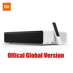 Asli Xiao Mi Mi Jia Laser TV 150 Inch Multi-Bahasa 4K Full HD dengan Dolby DTS 3D HDR Mi Rumah Bioskop