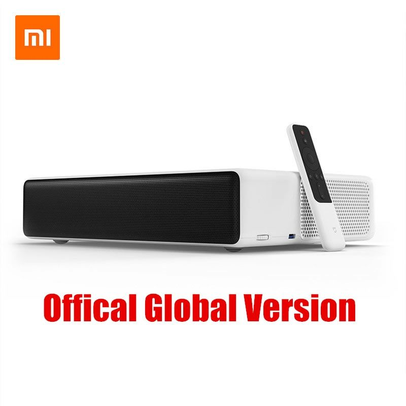 Original Xiaomi Mijia Laser Projector TV 150 Inch Multi-language 4K Full HD With DOLBY DTS 3D HDR Mi Home Movie Theater