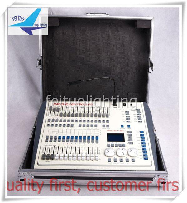 Free shipping Showtec Creator 1024 Intelligent DMX Controller Mini pearl 1024CH dmx console dmx controller light controller