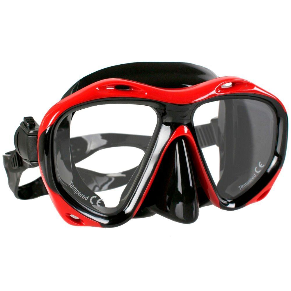 Copozz marque professionnel Skuba masque de plongée lunettes de sport nautique équipement de plongée sous-marine masque de chasse presbytie myopie lentille