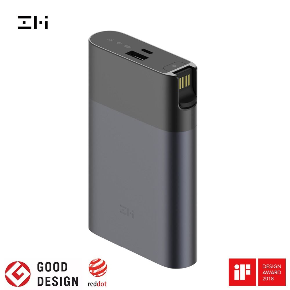 ZMI MF885 4G Wifi Router 10000 mAh Power Bank Wireless wifi repeater 3G4G Router Mobile Hotspot Fast shipping