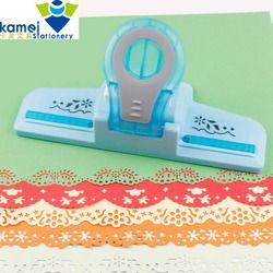 Gran Lujo en relieve punzón scrapbooking artesanal Dispositivo de borde DIY cortador de papel artesanía regalo perforadora de papel YH30
